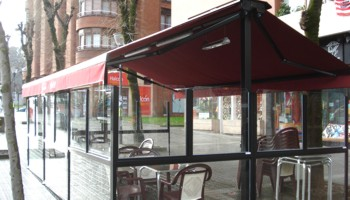 Montaje De Toldos Para Patios Terrazas Bares Y Restaurantes